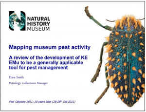 NHM - Mapping Pest Activity Image