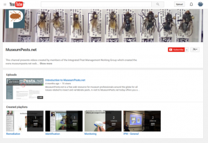 MuseumPests on YouTube