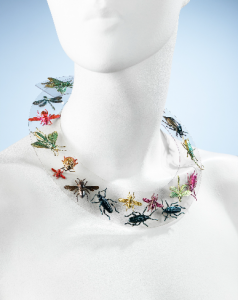 An example of acceptable bugs in the collection. Necklace by Schiaparelli. MMA 2009.300.1234